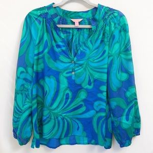 Lilly Pulitzer blouse medium